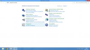 VMWare 9.0 - Selezionare Programmi: Disinstalla un programma